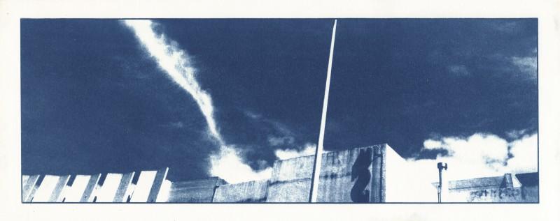 09 vol d'oiseau 4 - arles - cyanotype
