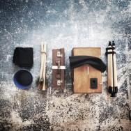 afghan box camera and portable portrait studio