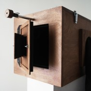 afghan box camera - back and doors