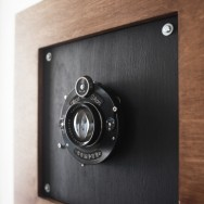 afghan box camera - lensboard and optics