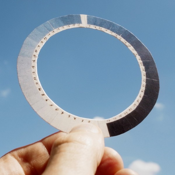 cyanometer in aktion
